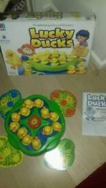 "Lucky Ducks (preschool electronic ""board"" game"