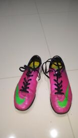 Nike Mercurial trainers size 3.5