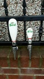 Grolsch beer taps