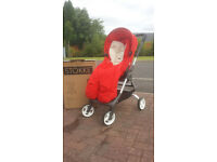 Stokke Scoot v1 Pushchair with Footmuff & Raincover