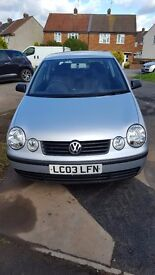 Volkswagen VW Polo Silver Automatic 1.4 75 bhp Lady owner