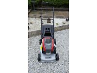 MOUNTFIELD HONDA ENGINED LAWNMOWER. brand new immaculate condition.