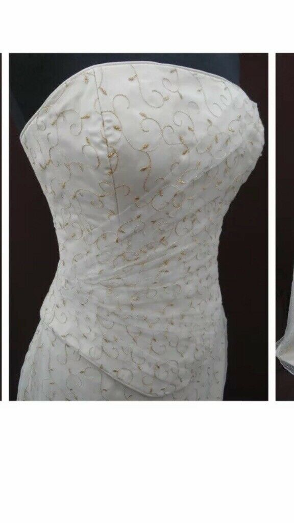 Champagne Gold Embroidery In Mapperley Nottinghamshire Gumtree