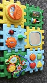 Baby musical floor puzzle