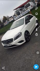 2013 reg mercedes A200 deisel se cdi white