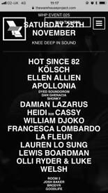 WHP Warehouse Projects 25th Nov 2017