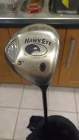 Golf Clubs - driver and wedges