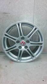 "Genuine Honda Civic Type R 17"" Alloy Wheels"