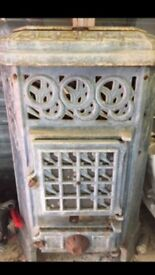 Cast stove from the 1800s
