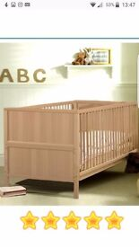 The Jurababy Classic cot /junior bed