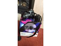 Canon EOS 1300D double lense with starter bundle. Brand new