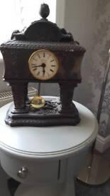 solid bronze clock