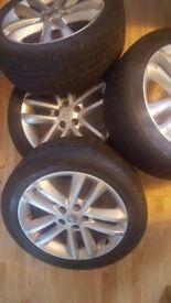 Vauxhall alloy wheels 17
