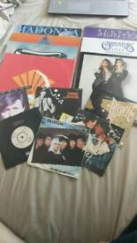 12'' and 7'' vinyl records - Madonna, Bowie, Blondie and more!