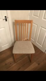 4 Next dining chairs for sale