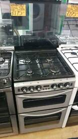 NEWWORLD 55CM DOUBLE OVEN GAS COOKER