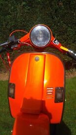 vespa 152 not for the faint hearted