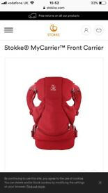 Stokke the organic 3 in 1 baby carrier