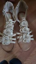 Pair of sandals size 8