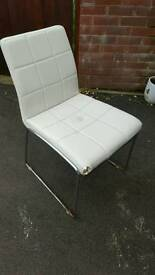 Set of 4 next dining chairs free