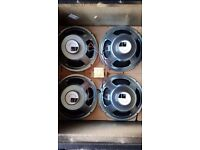 Celestion G12-30 MG speakers x 4