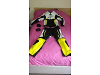 "Brand new Alpinestars ""style"" motorbike suit custom made BRAND NEW"