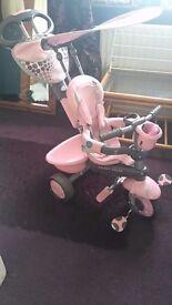 Smart trike toddler bike