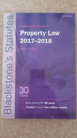 Blackstone's Statues on Property Law 2017-2018