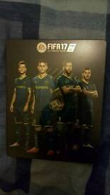 FIFA 17 DELUXE STEELBOOK CASE BRAND NEW (NO GAME JUST THE CASE)