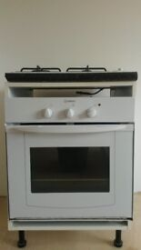 Electrical built in oven + gas hob
