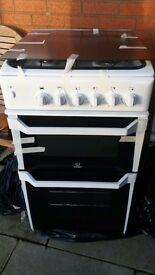 Indesit Gas cooker - White