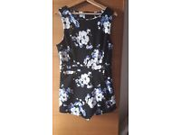 Ladies playsuit size 14