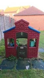 Loved children's garden house for sale, has to go today
