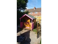 Kids wooden playhouse
