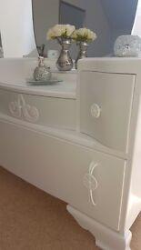 Stunning Antique LeBus Dresser . Art deco. Vintage. Upcyled
