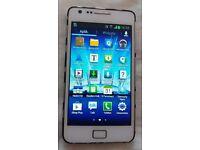 Samsung Galaxy S2 II GT-I9100 - 16GB - White ( o2 ) Smartphone