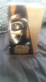 Original star wars vcr boxset