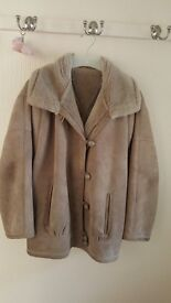 Vintage Genuine sheepskin jacket (from Marks and Spencer) in very good condition size 10 -12