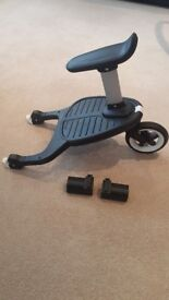 BUGABOO BUGGY BOARD - NEWEST EDITION WITH REMOVABLE SEAT & ADAPTERS