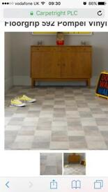 4x3.5m brand new vinyl flooring