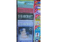 Job lot of Sugar Craft books.