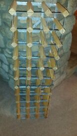 Wine Rack - holds 36 bottles