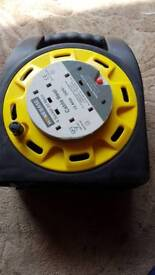 Homebase 4 socket cable reel 13 amp