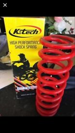 High performance shock spring off KTM 85