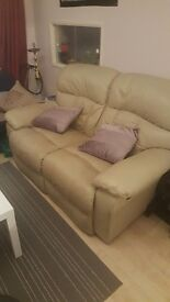 Sofa 2 seater leather