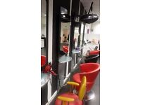 SALON STYLING UNIT WITH CHAIR £300