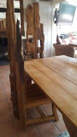 Thai Table & 6 Chairs