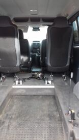 Peugeot WAV vehicle - 4 seats plus wheelchair space, inbuilt ramp, electronic winch