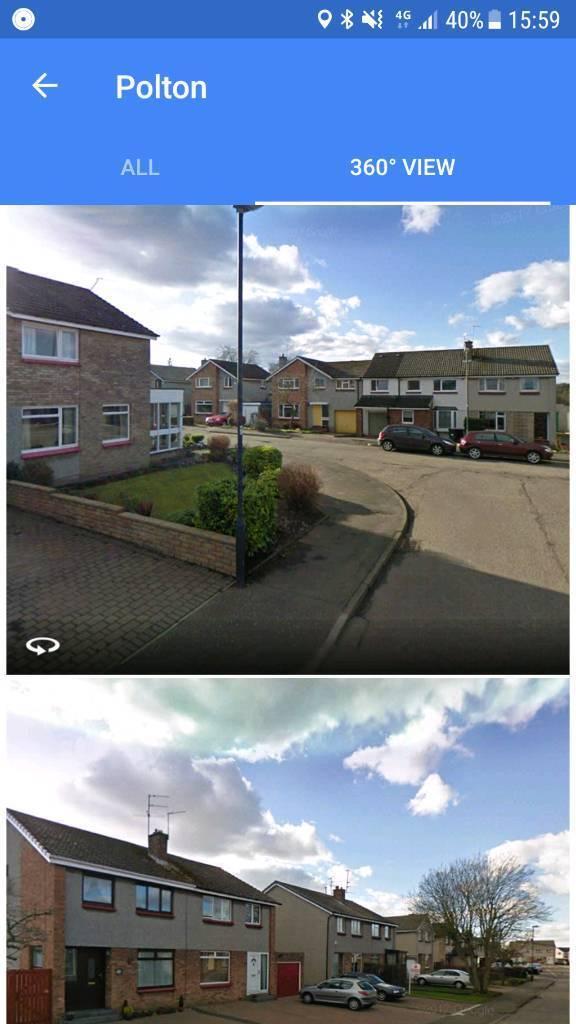 Polton (Edinburgh outskirts) Window cleaning run/round