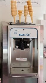 T15 Blue ice , ice cream machine.
